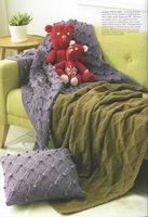 Hayfield Book 504 - Aran Homewares - Hayfield Bonus Aran/Aran Tweed 400g